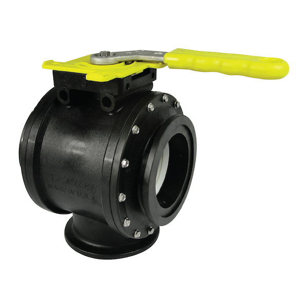 3-Way Manual Ball Valves